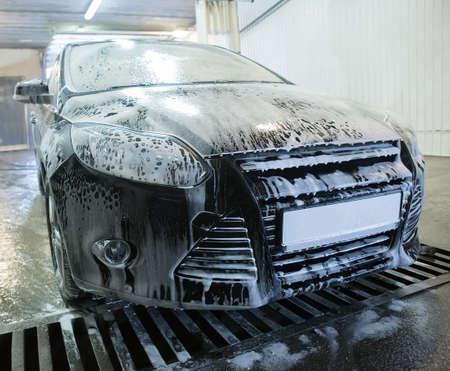 car at car wash shampoos
