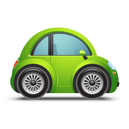 Green car icon
