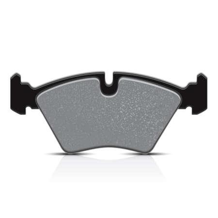 Brake pad, vector