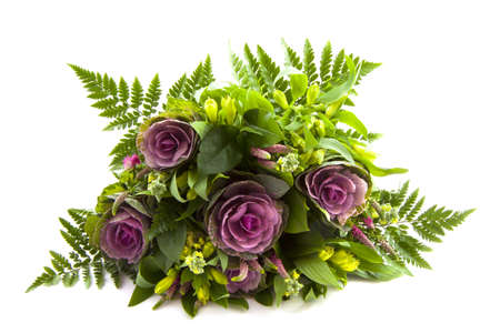 Photo pour Bouquet of flowers isolated on a white background - image libre de droit