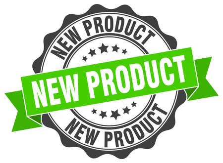 Illustration pour new product stamp. sign. seal - image libre de droit