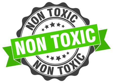 Illustration pour non toxic stamp. sign. seal - image libre de droit