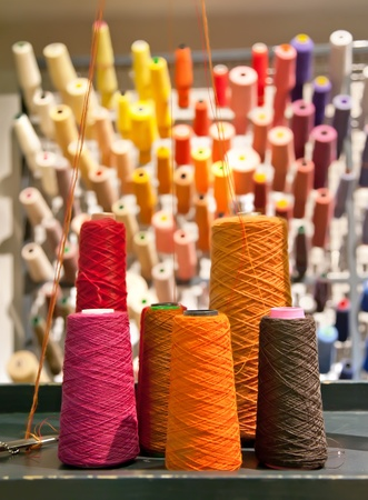 industrial textile threads