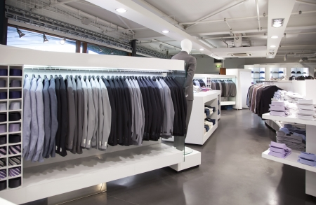 general view of modern store