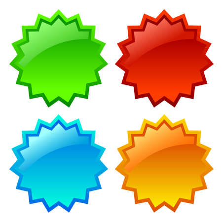 Vector star icon illustration