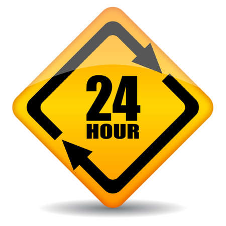 Vector 24 hour customers support sign