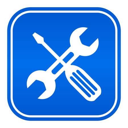 Vector workshop sign