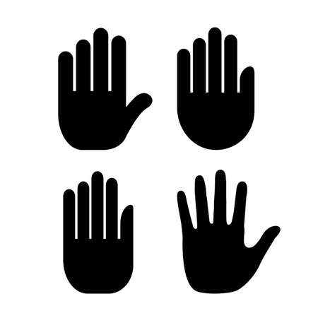 Hand palm icon