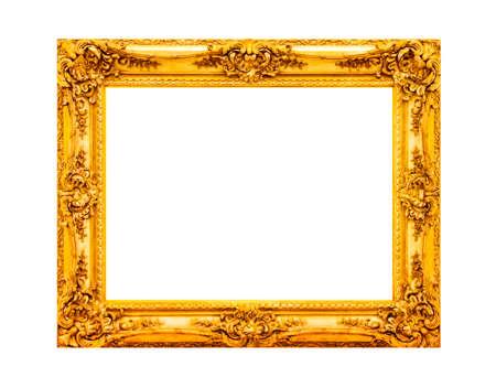 Antique gold wooden frame