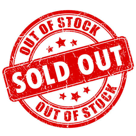 Sold out rubber business stamp