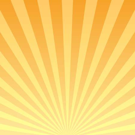 Illustration for Retro striped background, bursting rays design - Royalty Free Image