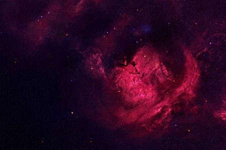 Foto für Beautiful galaxy of red color with stars. - Lizenzfreies Bild