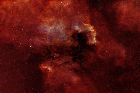 Photo for Red galaxy in deep space.  High quality photo - Royalty Free Image