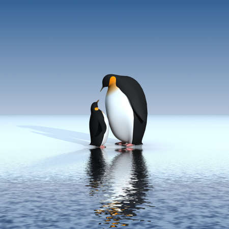Photo for Fun penguins - Royalty Free Image