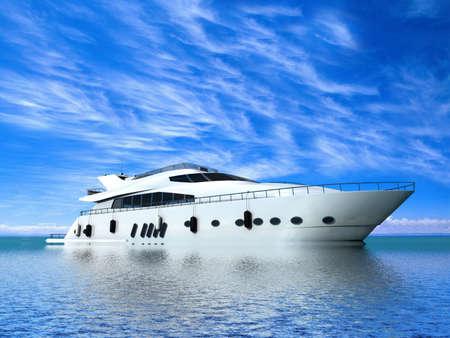 Photo pour Luxury Yacht - image libre de droit