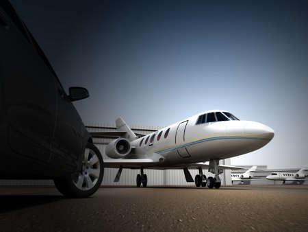 Photo pour Luxury Transportation - image libre de droit
