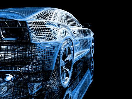 Photo pour wire car - image libre de droit