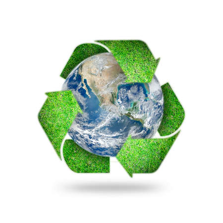 Photo for Save world environmental, earth day, energy saving protection awareness campaign, CSR concept - Royalty Free Image