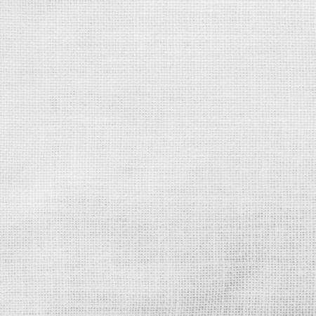 Photo pour White hessian sack cloth texture canvas fabric background - image libre de droit