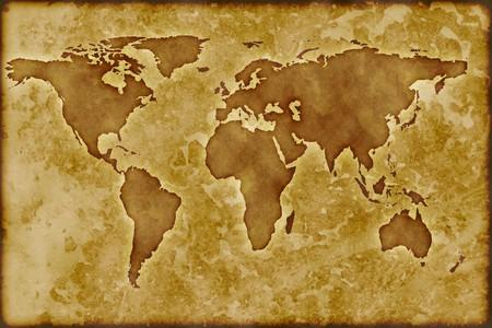 Old worldmap