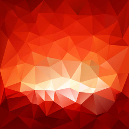 vector background with irregular tessellations pattern - triangular design in red glass hell colors