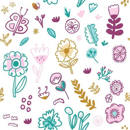 Illustration pour This pattern is perfect for invitations, home decor, textiles, and scrap booking. - image libre de droit