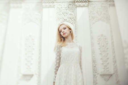 a beautiful young bride