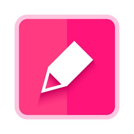 Illustration pour pencil edit icon button - image libre de droit