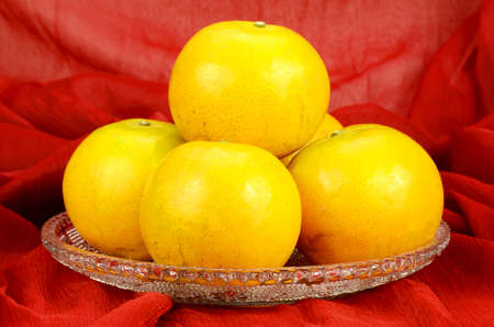 Chinese New Year Oranges . Xin Nian Kuai Le.