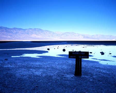 Badwater creek, Death Valley, California, USA