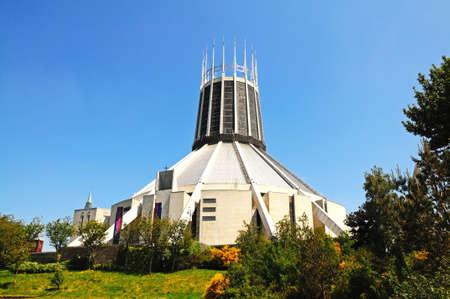 Roman Catholic Cathedral, Liverpool, Merseyside, England, UK, Western Europe.