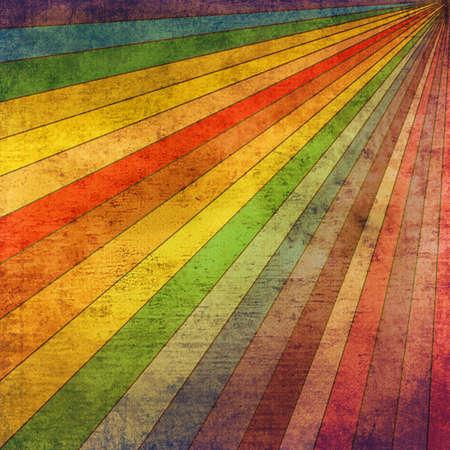 Retro Rainbow Rays