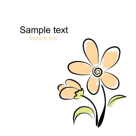 Vector. Flower background