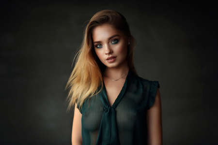 Photo for Beautiful young female model - Royalty Free Image