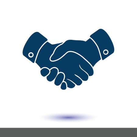 Foto de Handshake sign icon. - Imagen libre de derechos