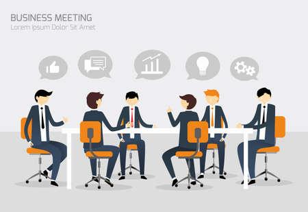 Photo pour Business Meeting - image libre de droit