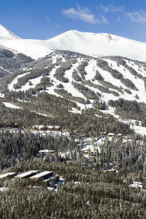 Breckenridge ski area in the