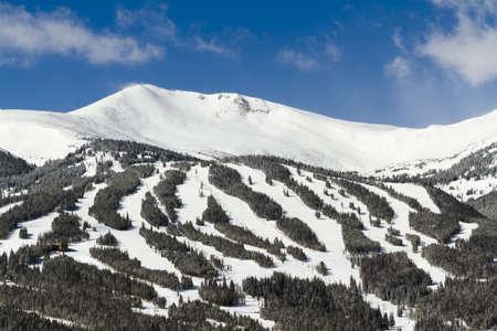 Breckenridge ski area in the
