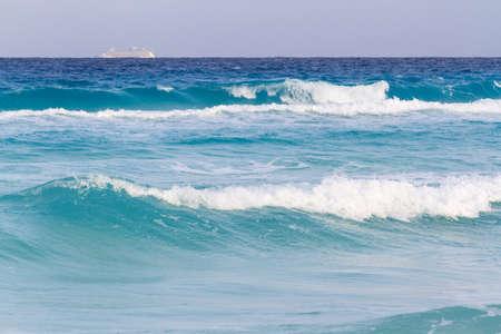 Beach of the Caribbean Sea i