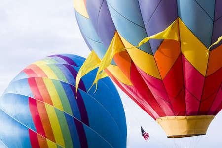 Annual hot air balloon festi