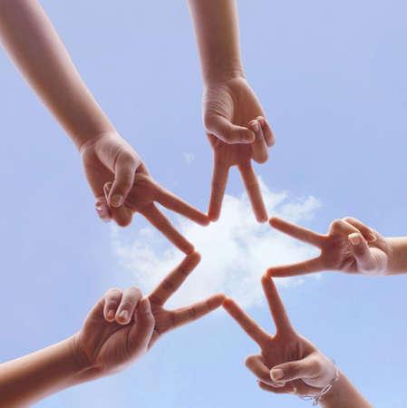 Foto de hand symbol - Imagen libre de derechos