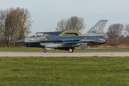F-16 or 323 sqn. RNLAF taking off at Frisian Flag