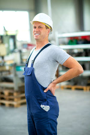 worker has back pain