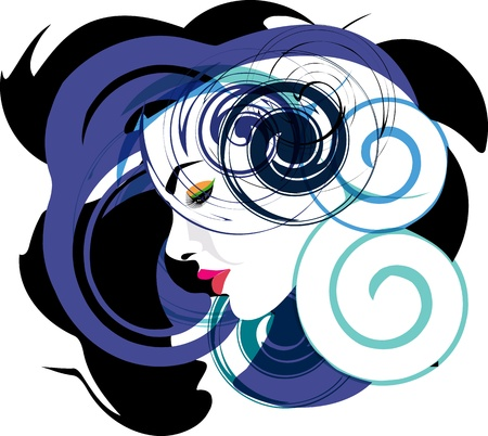 Woman, vector illustration