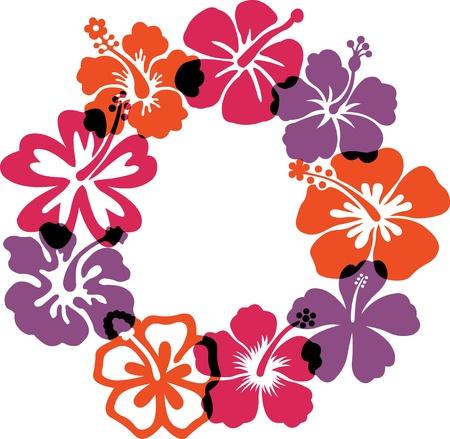 Illustration pour Abstract flowers illustrations - image libre de droit