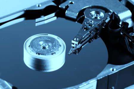 Photo pour Macro photo - Hard Disk Drive. Great details ! - image libre de droit