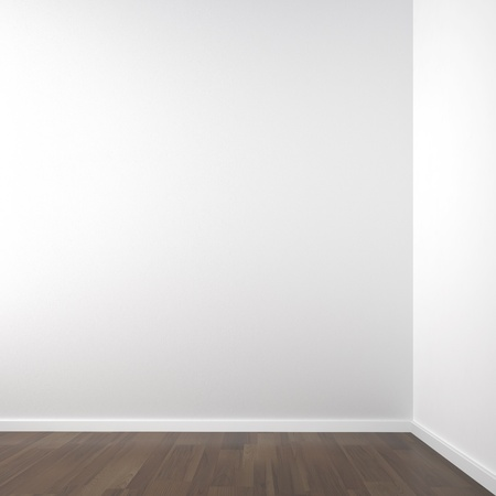 empty white corner room for placment of your product or model all copy space