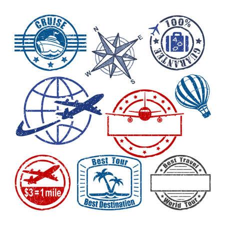 Foto de Travel stamp - Imagen libre de derechos