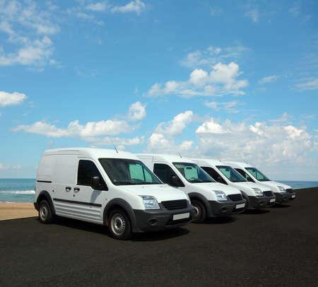 Photo for Mini van fleet - Royalty Free Image