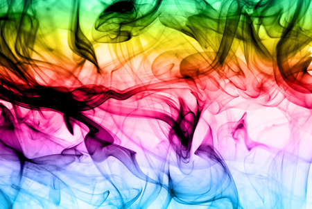Abstract colorful fume background useful as texture